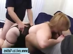 Mmf threesome with fat milf kimmie