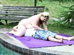 Bbw using her massive ass to smother..