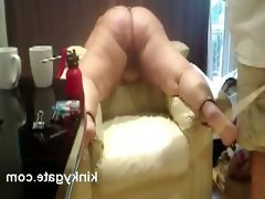 Merciless spanking fat ass my slave mary
