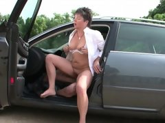49yr old german hairy milf seduce to..