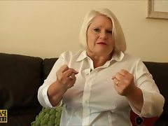 Mature amateur interviewed