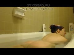 Veronica steam bathtub farts