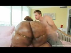 Black bbw superstar with 70 inch ass..