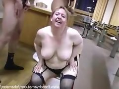 French mature bbw love sperm