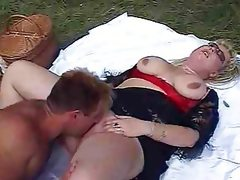 Bbw bimbo gets boned