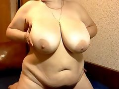 Mega boobs mature