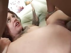Tattooed and chubby amateur gets ir..