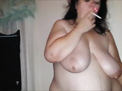Real homemade my cum slut wife facials