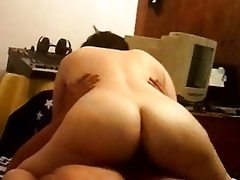 Spanish exgirlfriend 2 riding cock