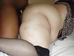 Bbw wife cumming again on her new bbc