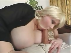 Bbw blonde big boobs