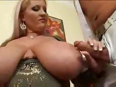 Huge tit blonde laura fucks & sucks