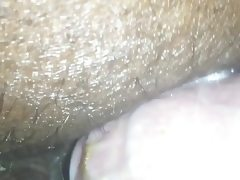 Black mild first time anal