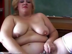 Chubby milf teacher gets out her..